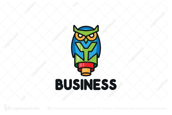 Logo for sale: Tube Owl Logo
